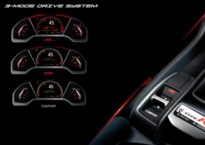 3-MODE DRIVE SYSTEM