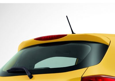 Body Spoiler with LED High Mount Stop Lamp