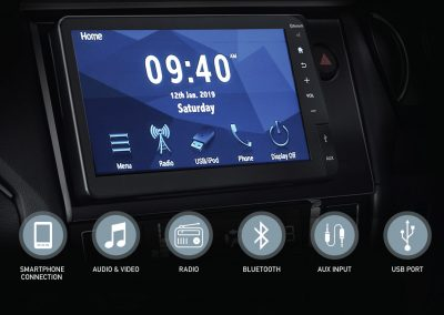 New 8inc Floating Capacitive Touchscreen Display Audio