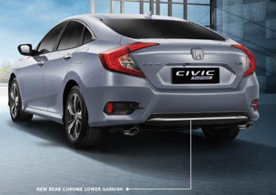 New Rear Chrome Lower Garnish