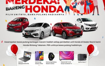 Merdeka Bareng Honda, Banyak Hadiahnya!
