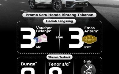 Promo Seru Honda, Yuk Dapatkan Keseruannya