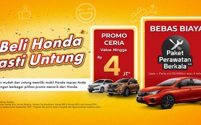 Beli Honda Pasti Untung di Bulan September